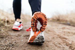 Trail Running Schuhe im Einsatz