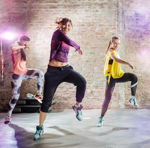 Zumba ist ein sehr beliebter Sport unter Frauen
